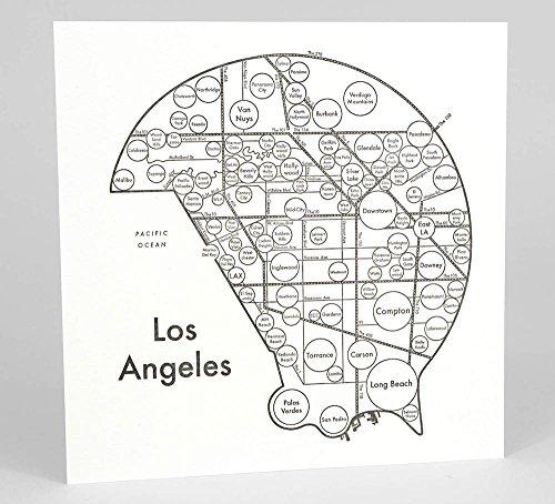 Los Angeles Map 17.5