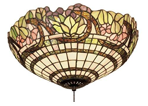 15 Inch W Handel Grapevine Flushmount , Ceiling Fixture , (Meyda Handel Grapevine)