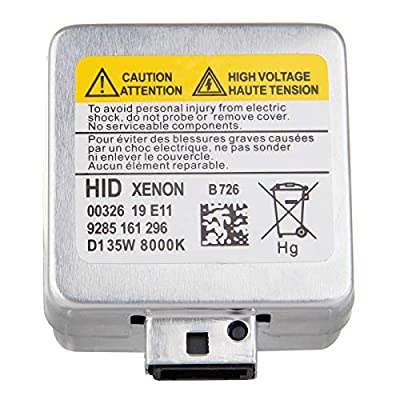 ECCPP D1S Headlight Bulbs 8000K Xenon White HID Replacement Headlight Kits Pair Set: Automotive