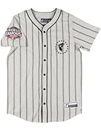 FSS Slugger Mens Baseball Jersey in Grey
