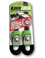Kanulock Lockable Reinforced Stainless Steel Tie Down Straps 8 Foot