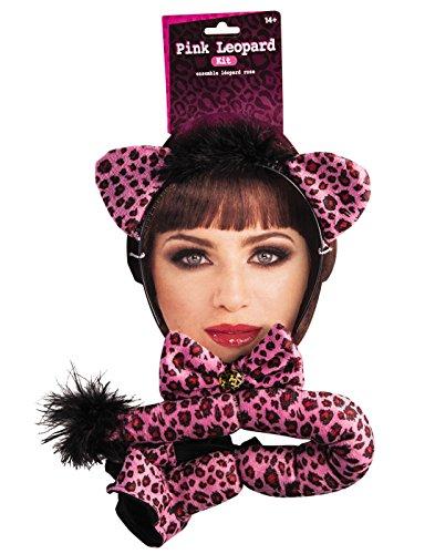 Forum Novelties Pink Leopard Costume Kit ()