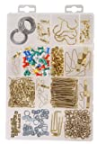 Hillman 591537 Large Picture Hanger Assortment Kit, 470-Pack