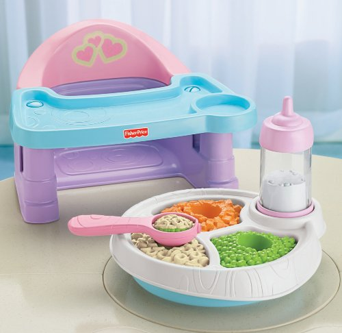 Fisher Price Servin Servin Surprises High Chair Set