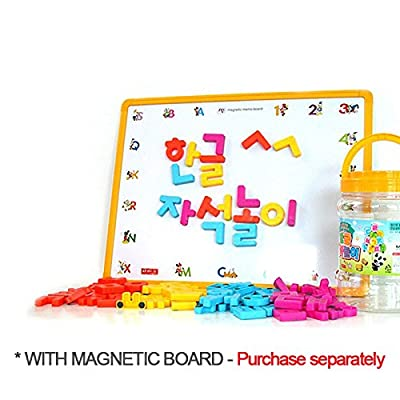 Magnetopia 78 Magnetic Alphabet Capitals Letters Bucket for Preschool Learning 1.2
