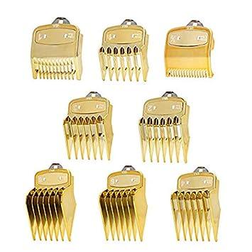 Gold - Zuecos WAHL universales para cortacésped Magic Clip, guía ...
