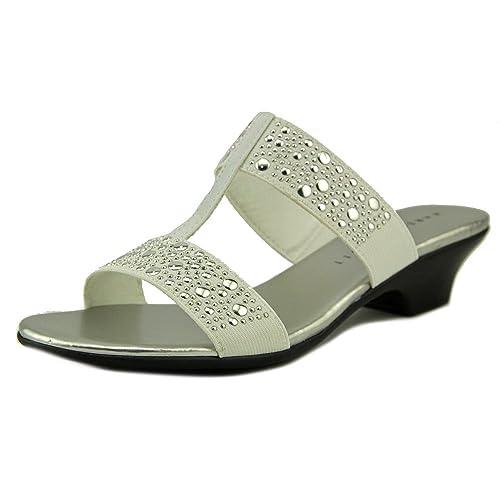 fc79b37f72cee Amazon.com | Karen Scott Womens Eddina Open Toe Casual Slide Sandals ...