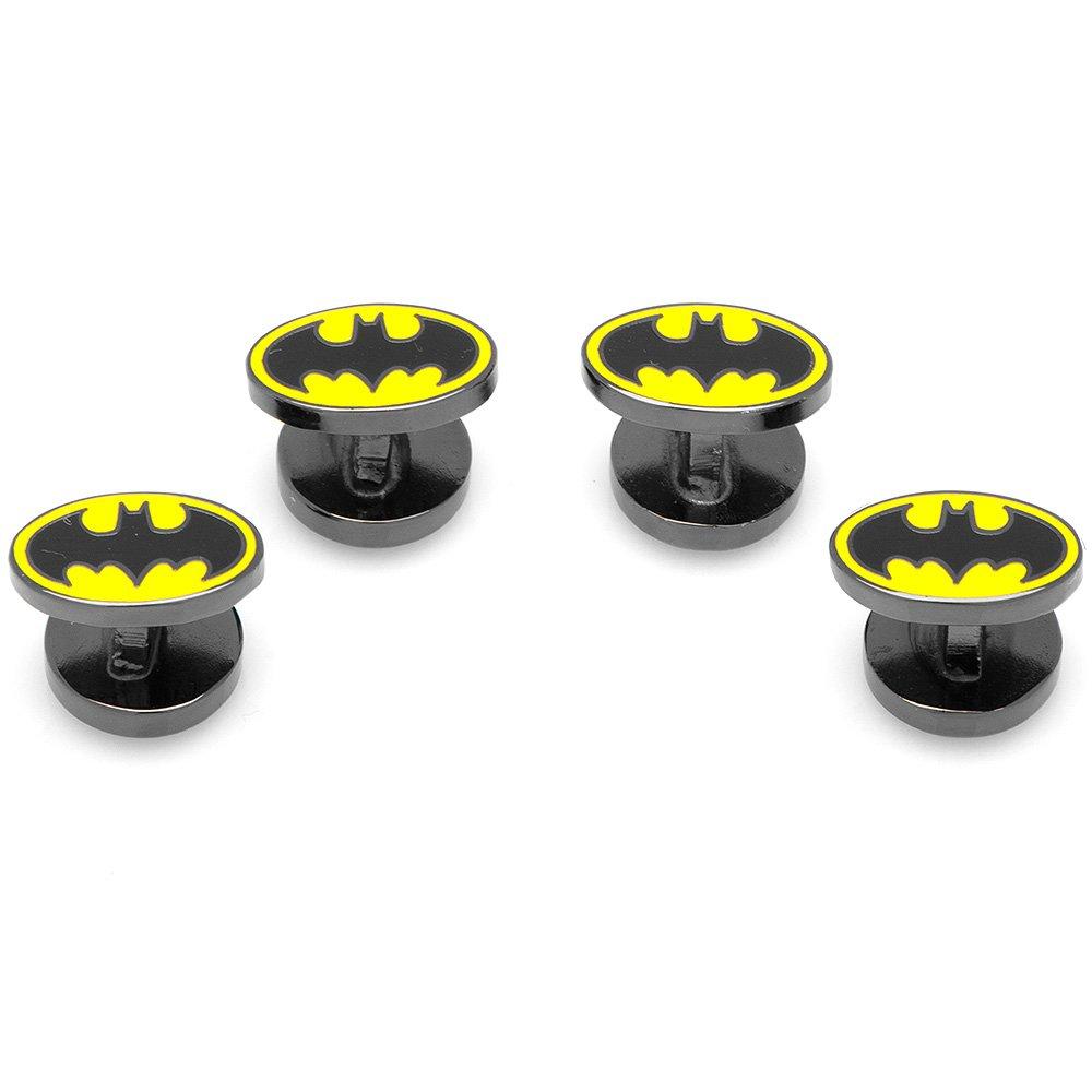 DC Comics Enamel Batman Tuxedo Studs, Officially Licensed DC-BGM-ST
