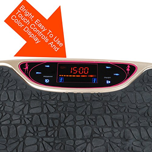 New Age Living Body Vibration Machine | Whole Body Exercise & Fitness For Men & Women | 200W Power To Plate & 120 Intensity Levels by New Age Living (Image #2)