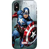 Captain America iPhone X Case - Captain America | Marvel X Skinit Pro Case