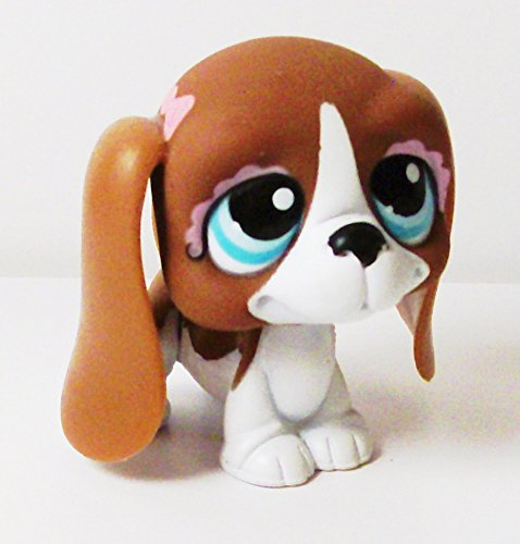 Littlest Pet Shop Figure Basset Hound Dog 1 3/4
