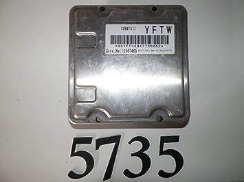 04-05 CADILLAC DEVILLE//BONNEVILLE...ENGINE CONTROL MODULE//COMPUTER.ECU.ECM.PCM