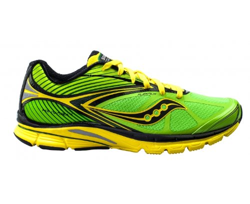 Saucony, Scarpe da Trail Running uomo Verde/Nero