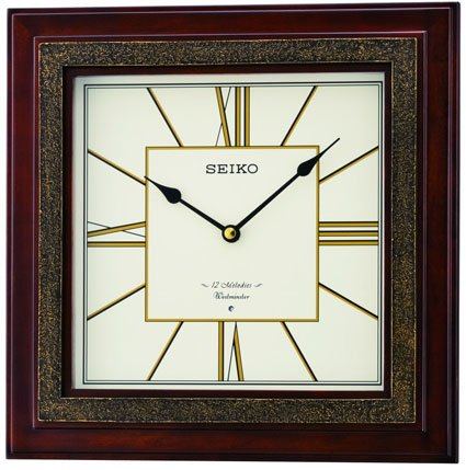 Seiko Emiline Musical Wall Clock with Chime QXM334BLH