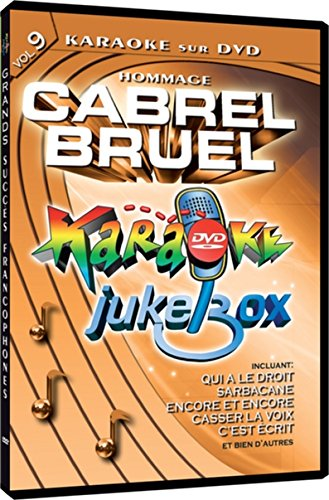 Karaoke Jukebox Vol. 9 - Hommage A Cabrel/Bruel (Version for sale  Delivered anywhere in Canada