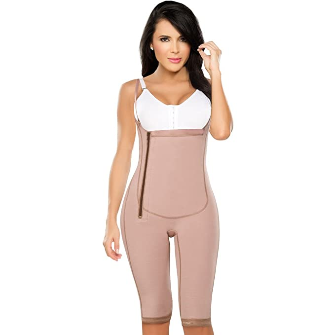 314cb4ce9c7 DPrada 021 Shapewear Bodysuit Liposuction Compression Garments Post Surgery  Faja - Cocoa-Optic - 3XS