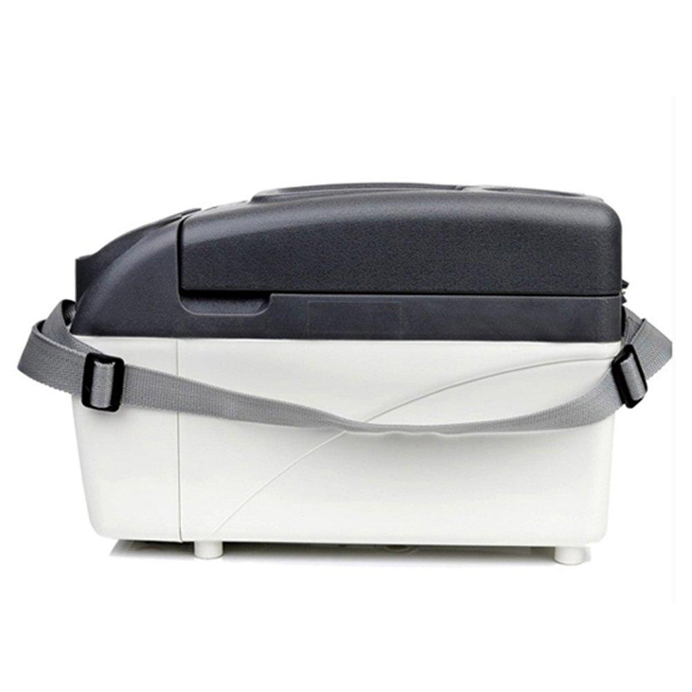 LIQICAI 7L Camping Kühlschrank Tragbarer Tragegurt 2 Tassenhalter An Der Spitze 12V 230V