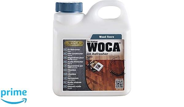 Woca Natur - Aceite de mantenimiento para suelos de actualización (1 L, juego de 1, blanco, 511310 un: Amazon.es: Bricolaje y herramientas