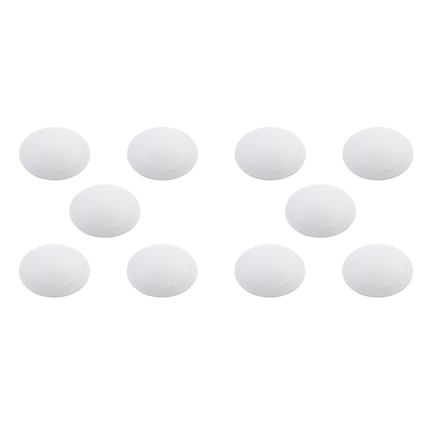 Unbekannt Hansi Home Xpert Door Buffer 10 Diameter 40 Mm Pack Of 10 X502201   White (Pack Of 4 1 - Pack