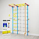 Home Gym Swedish Wall Playground Set for Schools Kids Room - Carousel S7