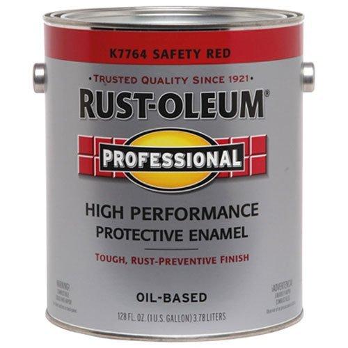 RUST-OLEUM K7764-402 Professional 400 Voc Gallon Safety Red Enamel Paint by Rust-Oleum (Image #1)