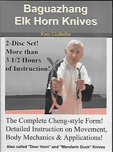 Bagua Elk Horn Knives DVD Set - Deer Horn Mandarin Duck Knives