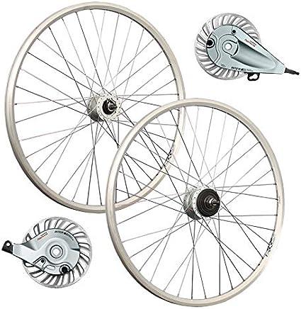 Taylor-Wheels 26 Pulgadas Juego Ruedas Bici Dinamo buje Nexus Frenos Rodillo: Amazon.es: Deportes y aire libre