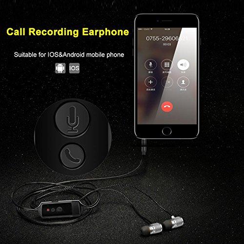 Review Fivoice Call Recording Earphone