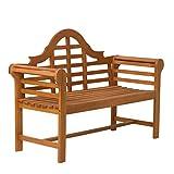 Broadmoor Garden Bench - DTY Outdoor Living Eucalyptus Patio Furniture Collection