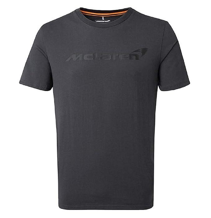 Formula 1 Technical T-Shirt Tee Top Grey Mens McLaren F1