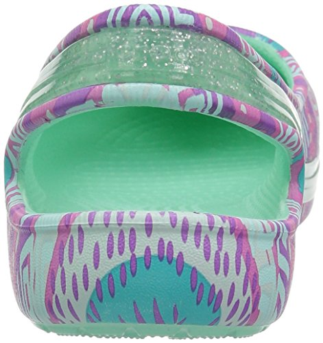 Pictures of Crocs Kids' Genna II Graphic Sparkle Sling- 8