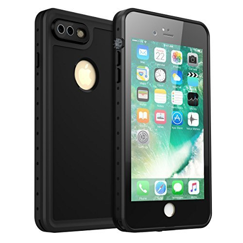 the best attitude a5c7a 14731 iPhone 7 Plus/iPhone 8 Plus Waterproof Case, iThrough iPhone 7 Plus/ 8Plus  Underwater Cas,Dust Proof,Snow Proof, Shockproof,Heavy Duty Protective ...