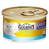 Gourmet Gold Senior Pate Recipe with Ocean Fish (85g)
