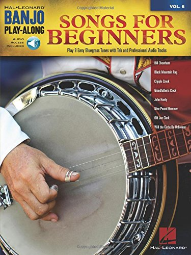 Songs for Beginners - Banjo Play-Along Vol. 6 Book & CD