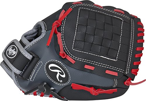 Rawlings Players Series Youth Baseball Glove, Regular, Basket-Web, 11 Inch