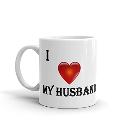 Buy I Love My Husband Valentine Gift To Husband Wife Lover Couple