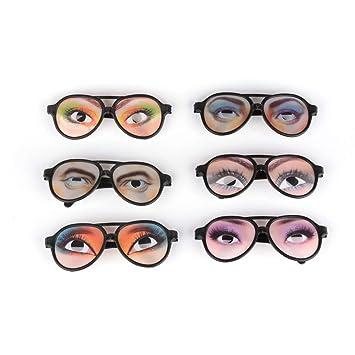 HALLOWEEN PARTY  Fake Glasses Tricks Gag Prank Eye Ball Joke Toy New