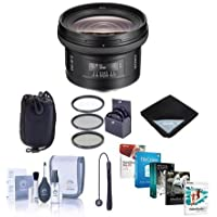 Sony 20mm f/2.8 Alpha A DSLR Mount Wide Angle Lens - Bundle with 72mm Filter Kit, Neoprene Lens Pouch Medium, Cleaning Kit, Lens Wrap (15x15), Capleash, Software Package