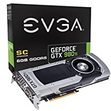 EVGA GeForce GTX 980 Ti 6GB SC GAMING, Silent Cooling Graphics Card 06G-P4-4992-KR by EVGA
