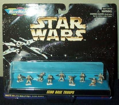 GALOOB Star Wars Micro Machines ECHO BASE TROOPS LOT 4 Figures