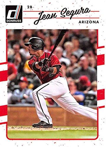 2017 Donruss #47 Jean Segura Arizona Diamondbacks Baseball - 47 Jean