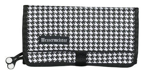 Messermeister 10-Pocket Padded Gadget Roll, (Culinary School Knife Bag)