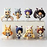 Phantomx NEKOPARA Vol.3 8pcs set PVC Figure Toy Anime Collection Doll 3D Model New In Box