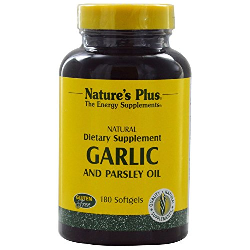 Nature s Plus Garlic and Parsley Oil 180 - Garlic Softgels 180