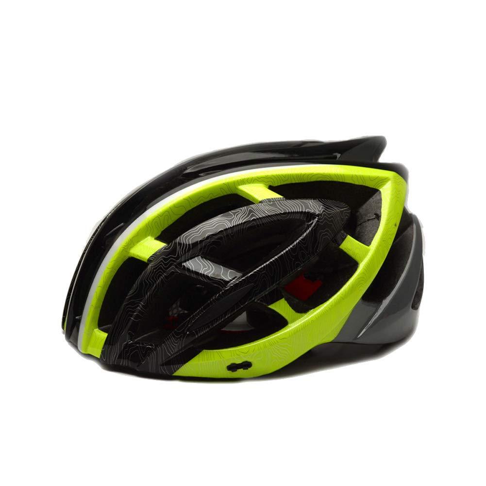 A N F E I Y U E Fahrradhelm integrierter Reithelm Erwachsene Outdoor Sport Mountainbike Reithelm