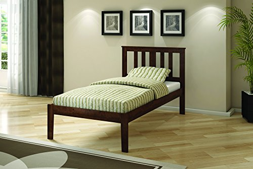 Donco Kids 625-TCP Pine Bed, Twin, Dark Cappuccino