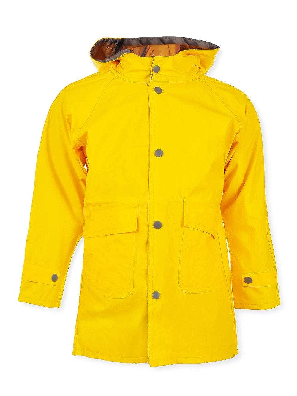 Wippette Unisex Raincoat Yellow 10-12