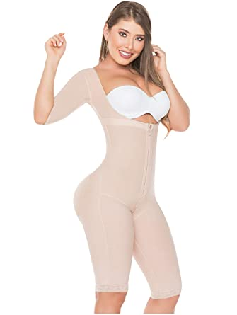 10a448057 Salome 0525 Compression Garments After Liposuction Fajas Colombianas Post  Surgery at Amazon Women s Clothing store