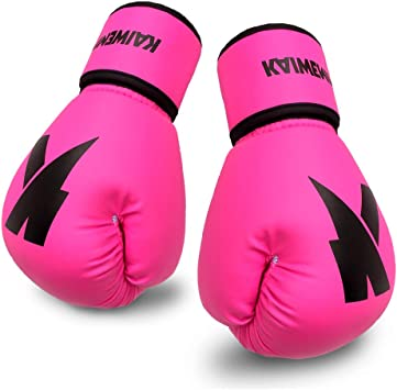New Adult Workout PU Punching Bag Mitts Kickboxing Training Boxing Gloves 1 Pair