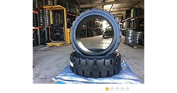 13.5 X 5.5 X 8  Forklift Tire Rubber Smooth Non-Marking